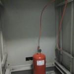 Pano içi yangın söndürme sistemleri