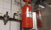 Davlumbaz İçi Yangın Söndürme Sistemi