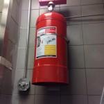 Mutfak davlumbaz içi yangın söndürme sistemleri