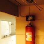 Davlumbaz içi Yangın Söndürme Sistemi