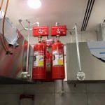 davlumbaz içi yangın söndürme sistemleri