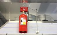 Davlumbaz Yangın Söndürme Sistemi
