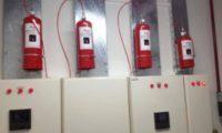 Elektrik Panosu Otomatik Yangın Söndürme Sistemi