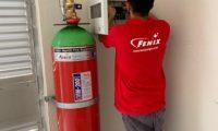 FM 200 Gazlı Söndürme Sistemleri