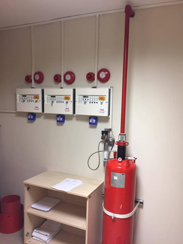 Fm200 yangın sistemi