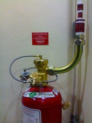 Fm200 gazlı yangın söndürme sistemleri dolumu bakımı