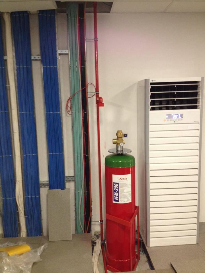 Fm200 HFC-227ea gazlı yangın söndürme sistemleri