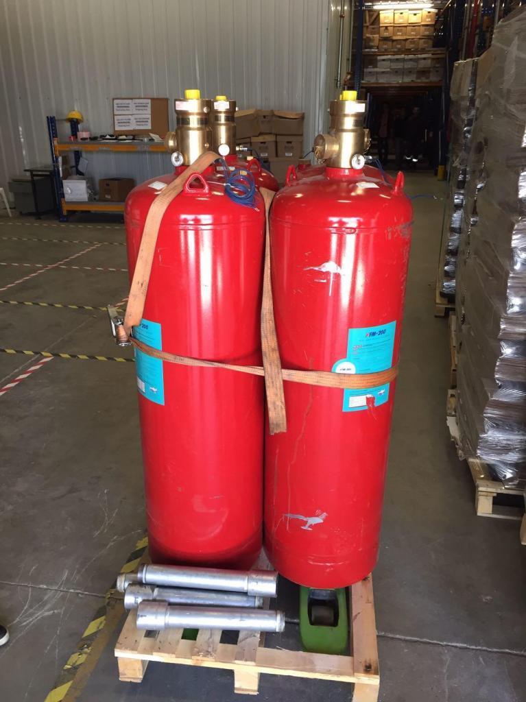 Ul onaylı fm 200 gazlı yangın söndürme sistemleri