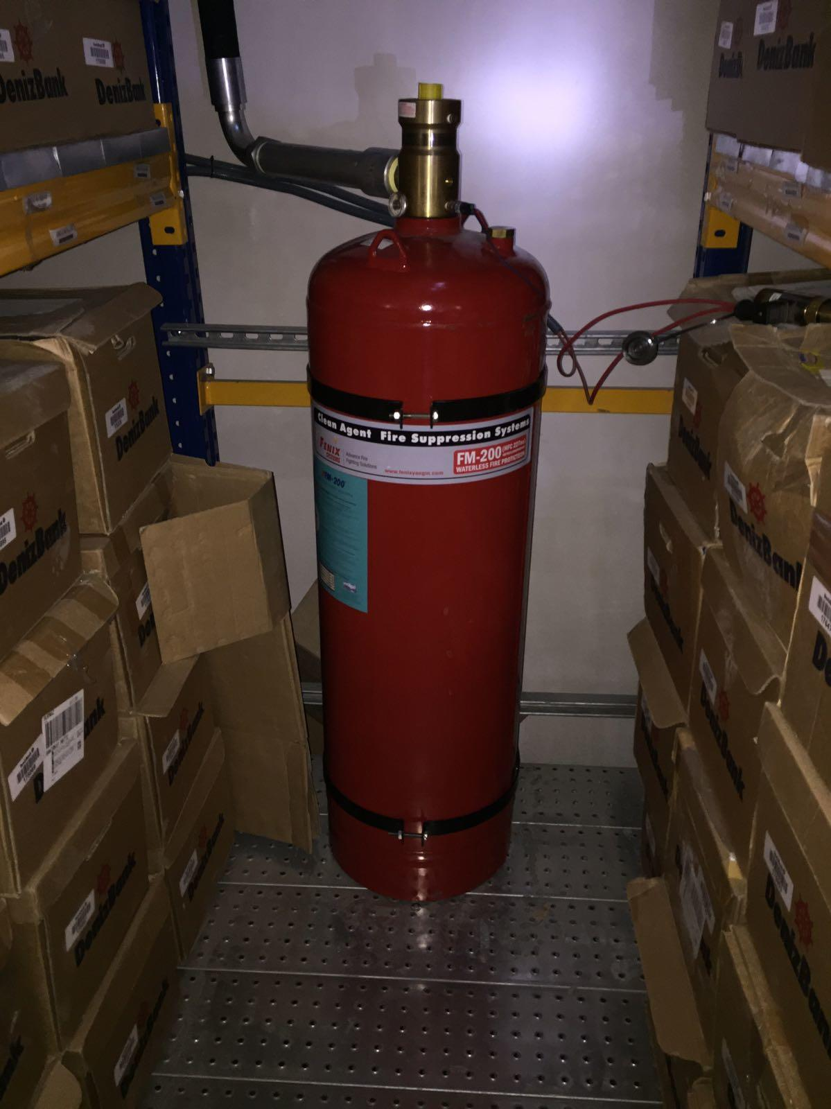 FM200 HFC-227ea Gazlı Söndürme Sistemleri