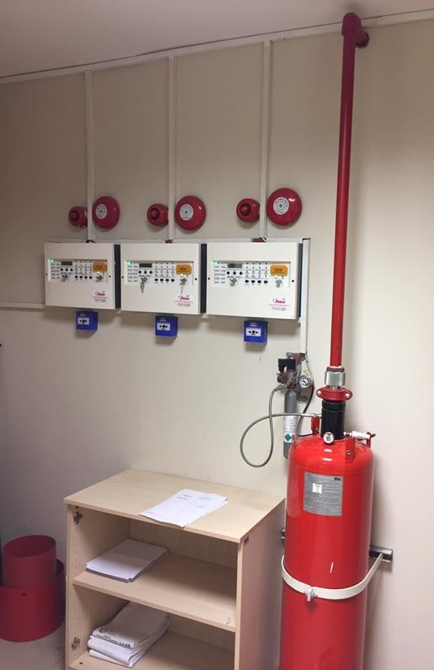 Fm 200 yangın söndürme sistemleri