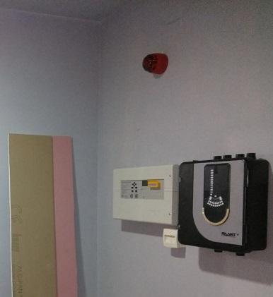 Hava örneklemeli yangın algılama sistemi