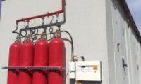 Karbondioksit CO2 Gazlı Yangın Söndürme