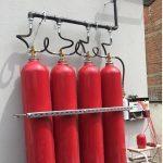 Co2 gazlı yangın söndürme sistemi