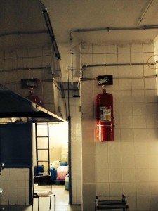 Mutfak davlumbaz yangın söndürme sistemleri