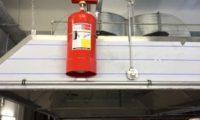 Mutfak Davlumbaz İçi Yangın Söndürme Sistemleri