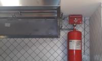 Otomatik Davlumbaz İçi Yangın Söndürme Sistemi
