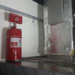Otomatik davlumbaz içi yangın söndürme sistemleri