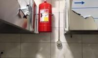Davlumbaz yangın söndürme
