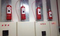 Pano İçi Mikro Yangın Söndürme Sistemleri