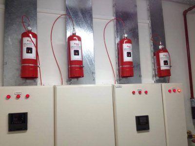 Pano içi yangın sistemleri