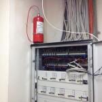 Pano içi yangın algılama ve söndürme sistemleri