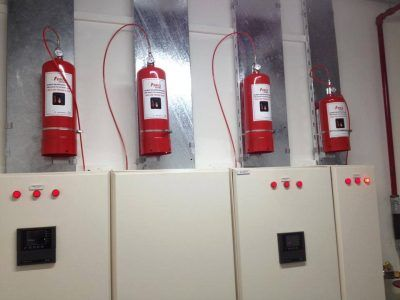 Pano içi yangın algılama sistemleri