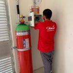Ul Onaylı FM200 Gazlı Yangın Söndürme Sistemleri