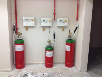 Yangın algılama ve söndürme sistemi